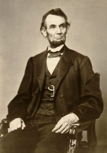 23605: Formal portrait of Abraham Lincoln, February 9, 1864 (C) Wisconsin Historical Society/Courtesy Everett Collection